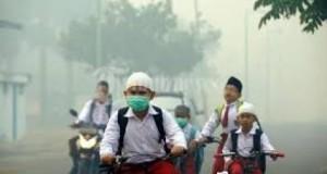 Asap Kian Pekat, Seluruh Sekolah se-Tabagsel Harus Diliburkan