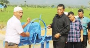 Bupati Madina Dahlan Hasan Resmikan Pintu Air Bondar Sira