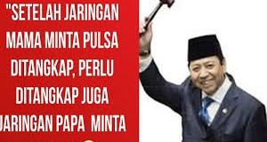 Sindir Ketua DPR, Beredar Meme 'Setelah Mama Minta Pulsa Kini Papa Minta Saham'