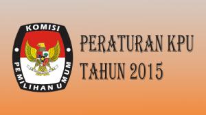 Peraturan-KPU-Tahun-2015
