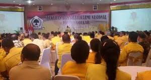 Novanto Harap Persatuan Golkar Terjadi Sampai ke Daerah