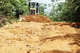 Akses Jalan Menuju Desa Aek Nabara Tuntas