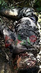 kondisi mayat di temukan : Fhoto START FM panyabungan