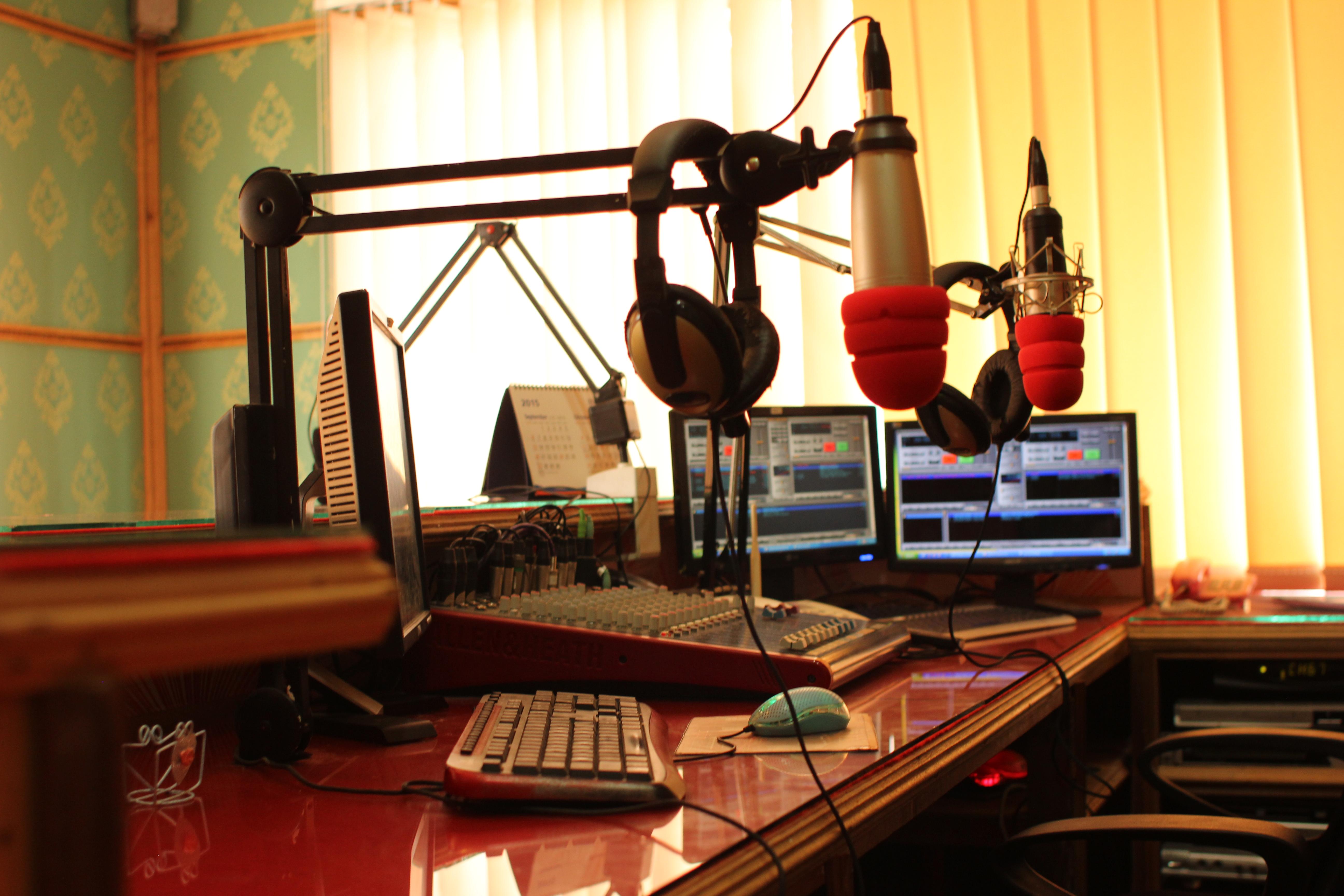 Studio Siaran – Studio I Start 102.6 Fm