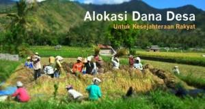 Program Dana Desa Tingkatkan Kemandirian dan Kesejahteraan
