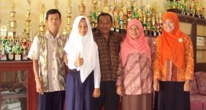 Fitrah Suryani Nasution Utusan Madina OSN Tingkat Sumut