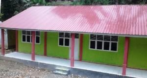 Desa Ranjau Batu Kini Punya Gedung Madrasah