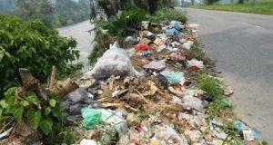DAS Batang Gadis Menjadi Tempat Pembuangan Sampah