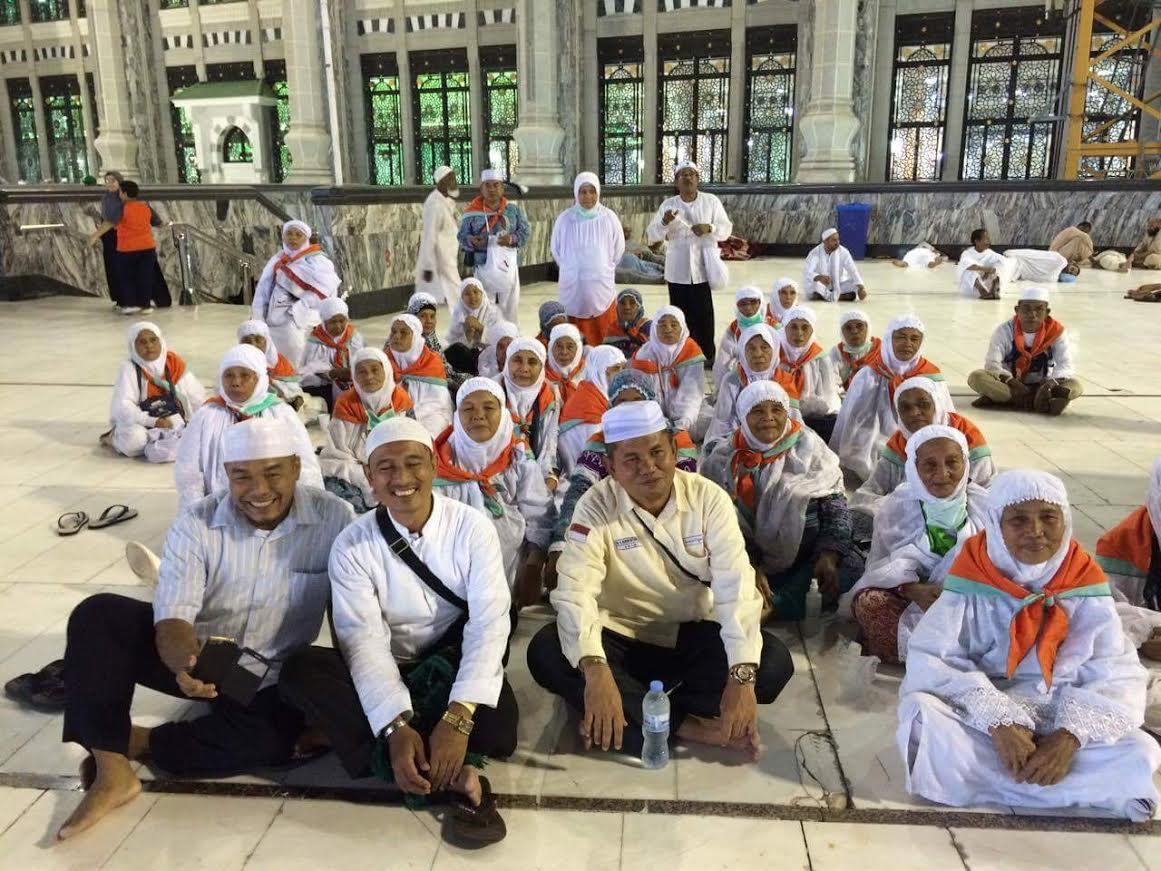 KKSU Fasilitasi Jamaah Haji Asal Madina Dimakkah.