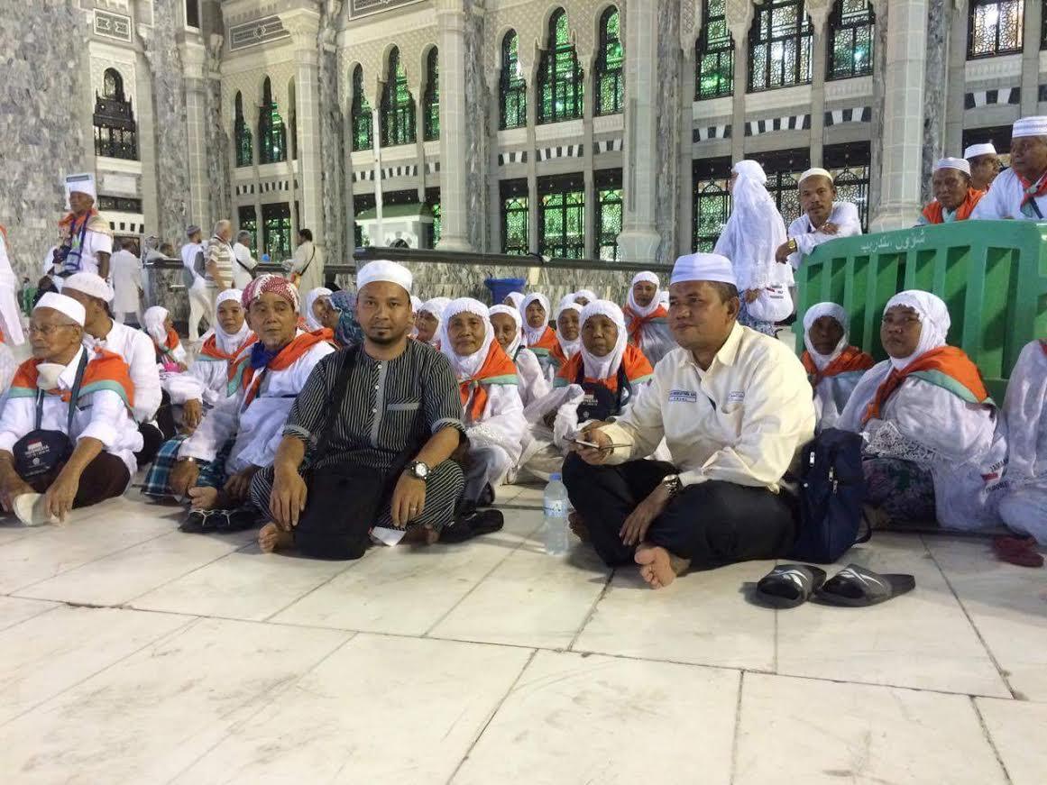 KKSU Fasilitasi Jamaah Haji Madina Beribadah Dimakkah.