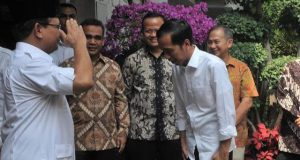 Jokowi Temui Prabowo di Hambalang Siang Ini