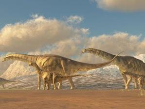 Tahukah kamu Dinosaurus Terbesar di Muka Bumi?