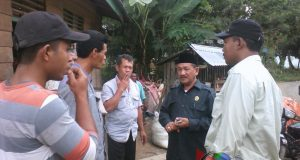 Wakil Ketua DPRD Mandailing Natal Pantau Pilkades Serentak