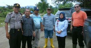 Ketua DPRD Madina Tinjau Banjir Manyabar