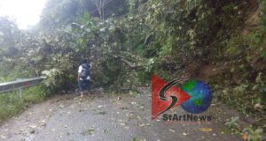 Ini Dia Titik Longsor yang Terparah yang Terjadi Hari Ini di Jalan Menuju Pantai Barat Madina
