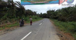 Warga Batahan Sinunukan Berterima Kasih atas Pembangunan Jalan