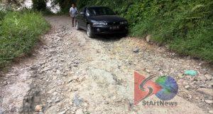 Warga Harapkan Perbaikan Jalan Tambangan-Panjaringan