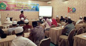 9 Ponpes di Madina Ikuti Orientasi Pengembangan Manajemen  di Medan