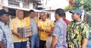DPD Golkar Madina Bantu Korban Banjir Kec. Bukit Malintang