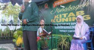 Ketua PKB Madina Tutup Acara Musabaqoh Kitab Kuning, Ini Hasilnya