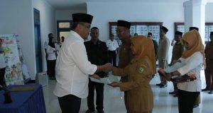 Wakil Bupati Madina Lantik Pejabat Eselon III dan IV