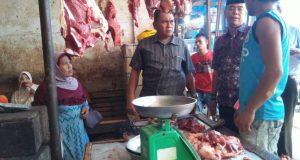 Kadis Perindustrian & Perdagangan Madina Sidak ke Pasar Baru