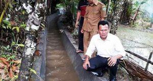 Anggota DPRD Madina, Ludfan, S.Sos Lakukan Pengawasan Pembangunan di Panyabungan Timur