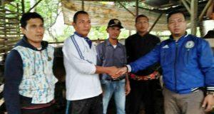 Koptan Desa Rumbio Dapat Bantuan Ternak dari Pemprovsu
