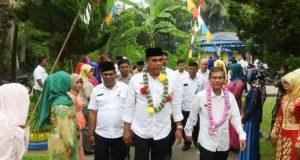 Wakil Bupati Dampingi Tim Penilai Kecamatan Terbaik Tingkat Sumut di Kecamatan Siabu