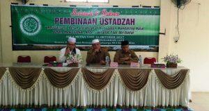 MUI Madina : Ustadzah Harus Berperan Membina Ummat