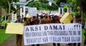 "Guru Honorer  Madina : ""Kami Pahlawan Tanpa Gaji """