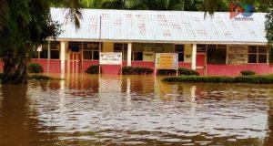 Musim Hujan Sejumlah Desa di Natal Banjir
