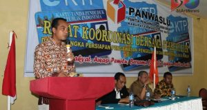 Panwaslu Madina Rakor Pengawasan Bersama Stakeholder