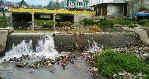 Sungai Aek Mata Masih Jadi Tempat Favorit untuk Buang Sampah