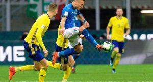 Untuk Kali Pertama Sejak 1958, Italia Gagal Lolos ke Piala Dunia