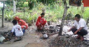 5 desa di Panyabungan Timur Beralih Profesi Jadi Pemecah Batu