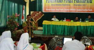 Mahasiswa Akbid Madina Husada Diajak Peduli Mengawasi Pemilu
