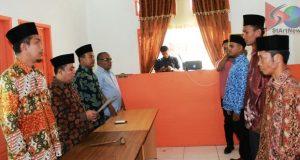 Panwaslu Madina Melantik PAW 3 Panwascam