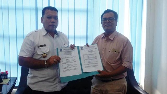 Penandatanganan Kerja Sama dengan BNN Madina tentang Penyebarluasan Informasi