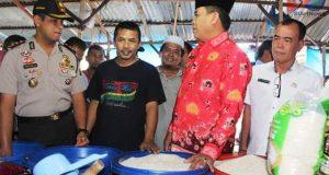 Wakil Bupati, Kapolres Madina Pantau Harga Sembako