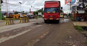 Pohon Pisang, Jalan Nasional Titi Kuning Panyabungan Madina