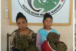 Naik Betor, Dua Perempuan Ditangkap Polisi Bawah Ganja