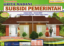 Rumah Subsidi Pemerintah, Perumahan Griya Madani