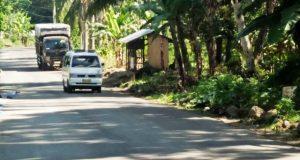 Jalan Provinsi Dibangun, Warga Berterimakasih