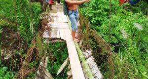 PT GLP Rehab Jembatan Rambin Desa Lancat