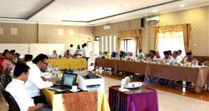 KPU Madina Gelar Uji Publik Usulan Penataan Dapil Pemilu Tahun 2019