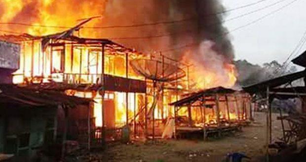 Kebakaran Simpang Gambir, 12 Rumah dan Los Pasar Ludes Terbakar