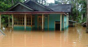 Banjir Landa Sejumlah Desa di Pantai Barat Mandailing Natal