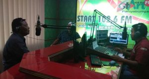 Bupati Mandailing Natal Kunjungi Radio StArt Fm dan Redaksi StArtNews