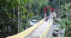 Jembatan Titi Gantung Diapresiasi Masyarakat
